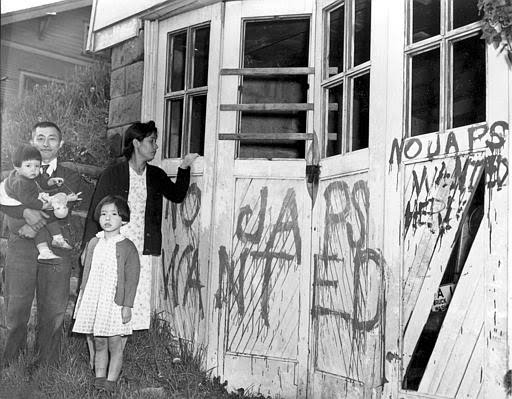 the political situation and racism towards the japanese in america during the 1940s Why was there so much racial inequality in the usa between 1929 and 1945 the situation of black people in the 1930s segregation and the jim crow laws.
