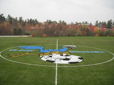 JSMS Soccer Field with Mascot