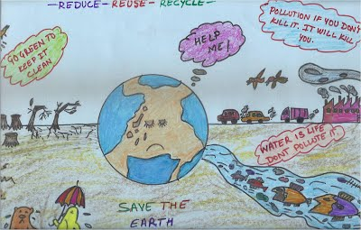 vvdav public school organised a poster making competition on the topic ending pollution here are a few entries