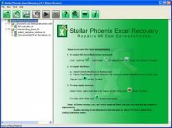 Stellar Phoenix Excel Recovery screen 2