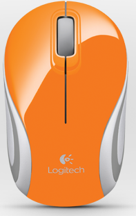 Logitech M187 orange