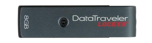 Kingston Data Traveler Locker+ with Encryption 8 GB USB 2.0 Hi-Speed DataTraveler DTL+/8 GB
