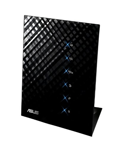 ASUS Black Diamond Dual Band Processor, Hardware NAT, 5 Internal Antennas, Fast Gigabit Ethernet and 128MB DDR2 Wireless Router (RT-N56U)