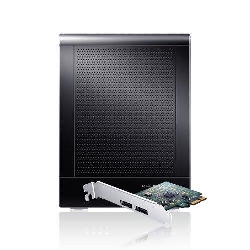TowerRAID TR4UT-B - 4 Bay SATA to USB2.0 / eSATA Hardware RAID 5 Enclosure (Black)