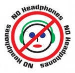 No headphone