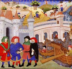 rise of towns in medieval europe Territory and population tend to produce urban growth, in particular that of the  capital city in europe cities are instead much closer to being.