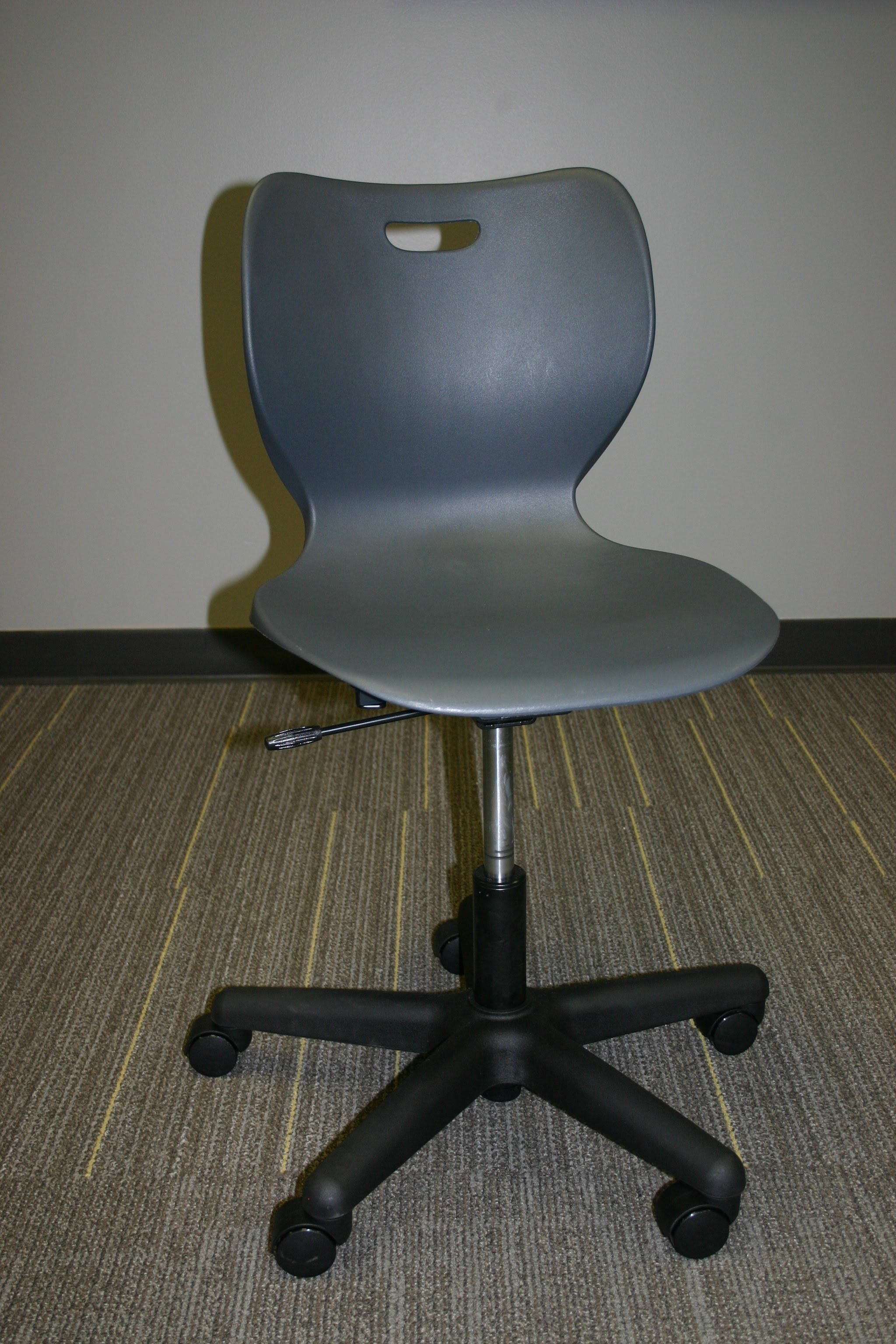 Cool Cachet Chair Pneumatic Height Adjustable Non Upholstered with Casters Smartlink Chair Pneumatic Height Adjustable with Casters