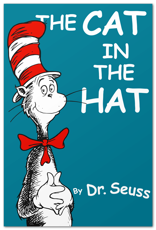 The cat in the hat book cover
