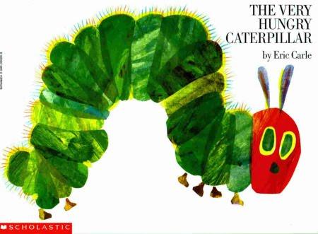 The Hungry Caterpillar book cover