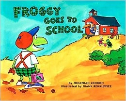 Froggy goes to school book cover