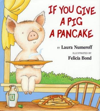 If you give a pig a pancake book cover
