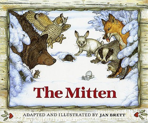 The mitten book cover