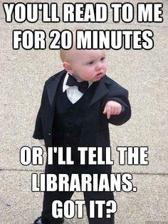 Fun Library Memes