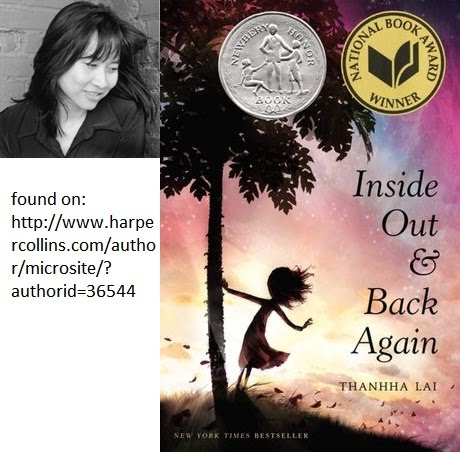 Lai Thanhha ~ Inside Out and Back Again - 2012-2013 DCF List