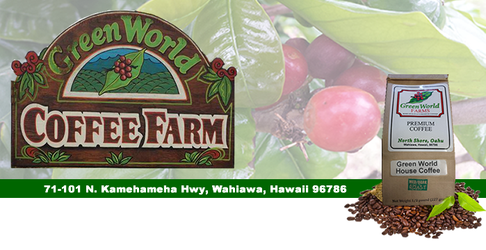 Green World Coffee Farm Kcc Oahu Farm To Table Restaurant Reviews F17