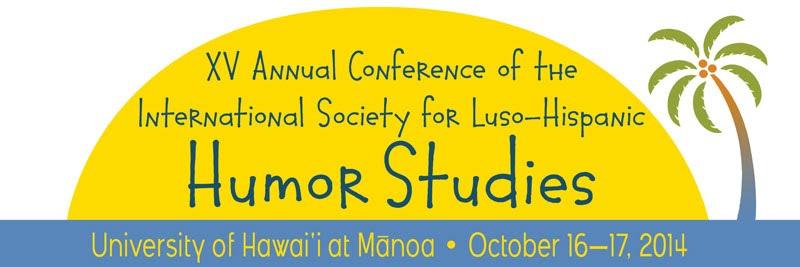 XV Annual Conference of the International Society of Luso-Hispanic Humor Studies logo