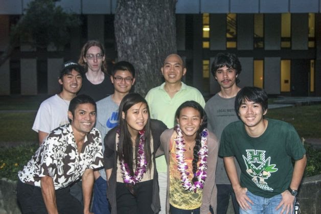 Students and postdocs in the Ho Leung Ng lab