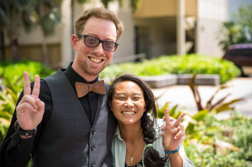 Alex Sens and Allison Kagawa, UH Manoa