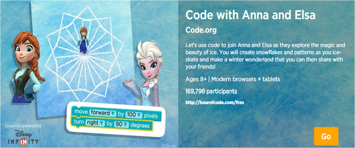 http://studio.code.org/s/frozen/stage/1/puzzle/1