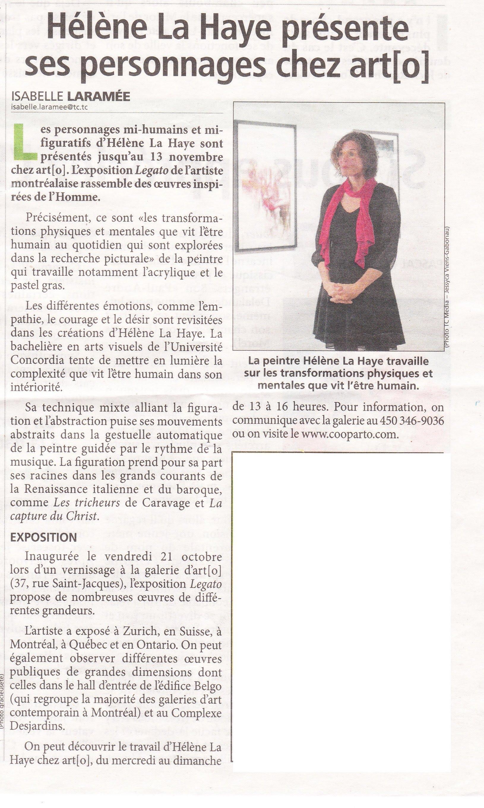 Coupure de Presse: Le-Canada-français-du-27-octobre-2016