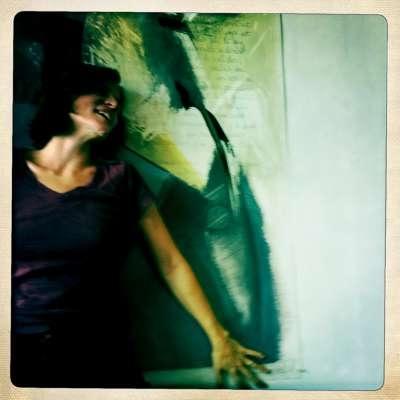 Démarche artistique d'une peintre à Montréal
