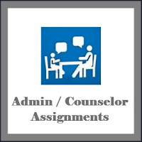 Admin / Counselor Assignments
