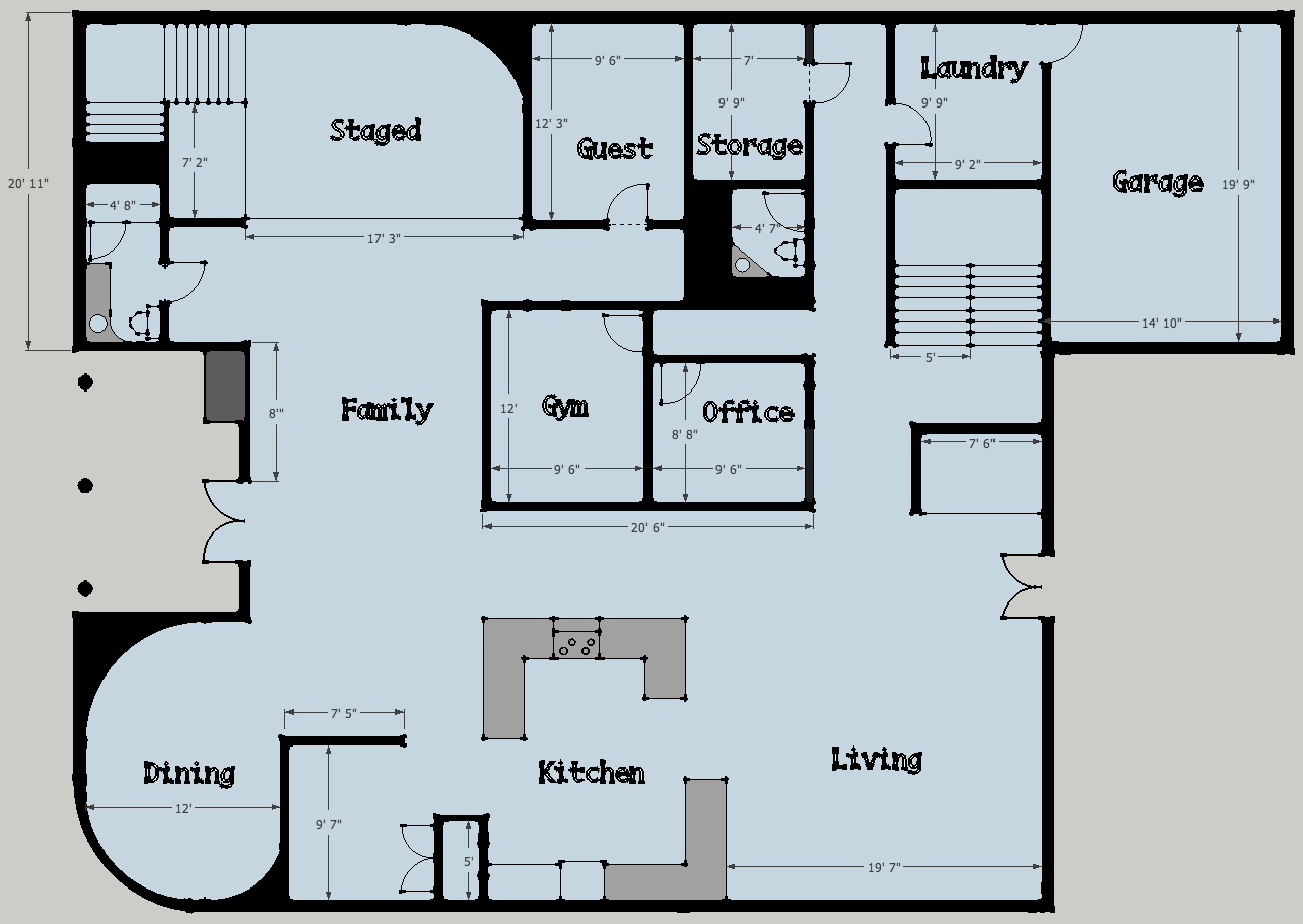 stunning floor plans inspiration - Project Home Plans