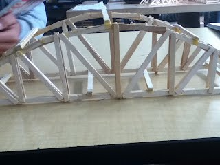 Popsicle Stick Bridge Project - Cristina D's DP