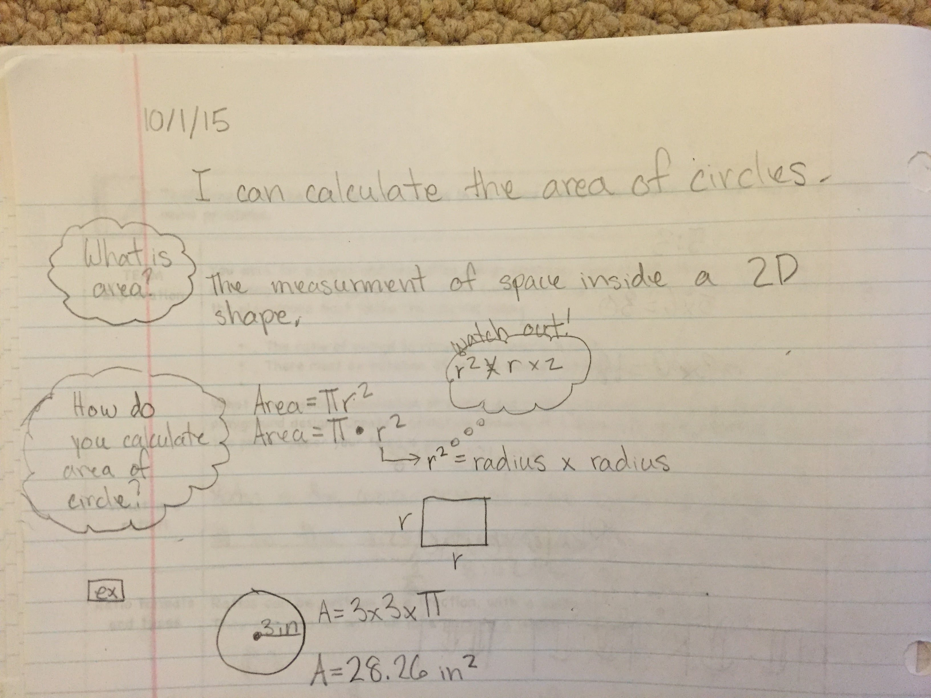 7th grade math notes