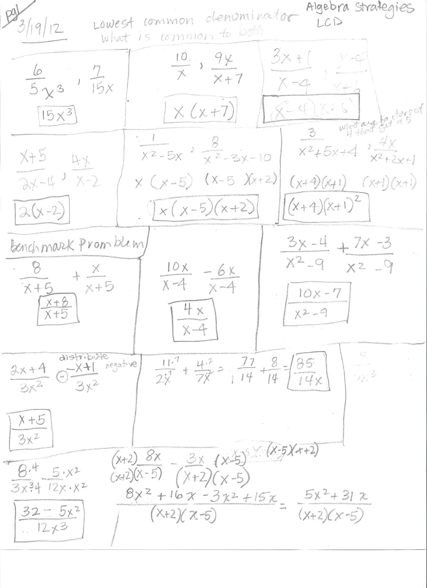 Algebra 1 - HHSResourceProgram