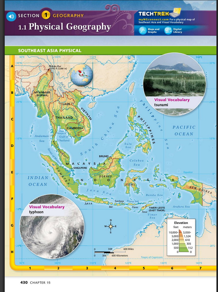 6th Grade Map Of Asia.Southeast Asia Inference Activity 6th Grade Social Studies