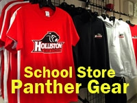 School Store Spirit Gear clothing