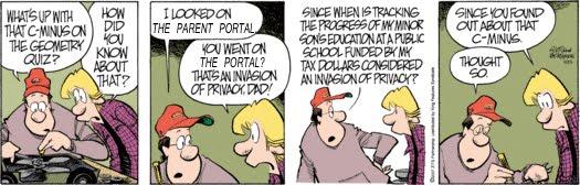 Parent Portal Comic