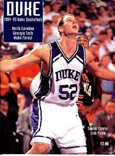 Erik Meek Duke Basketball