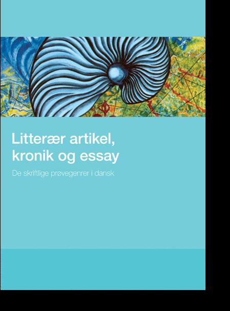 essay kronik og litterær artikel