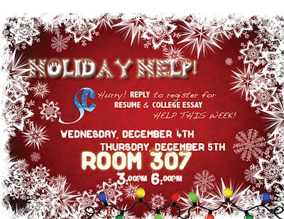 Holiday Help!!!! in Room 307