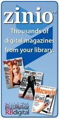 Click for Zinio e-magazines