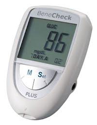 Máy thử tiểu đường đo mỡ máu BeneCheck Plus 3 in 1