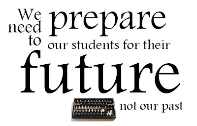We need to prepare students for their future not our past