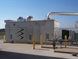 A fuel cell CHP system courtesy of Fuel Cell Energy Inc