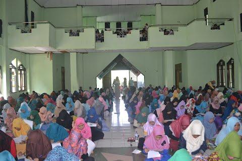 Tes penempatan Matrikulasi Bahasa IAIN Manado