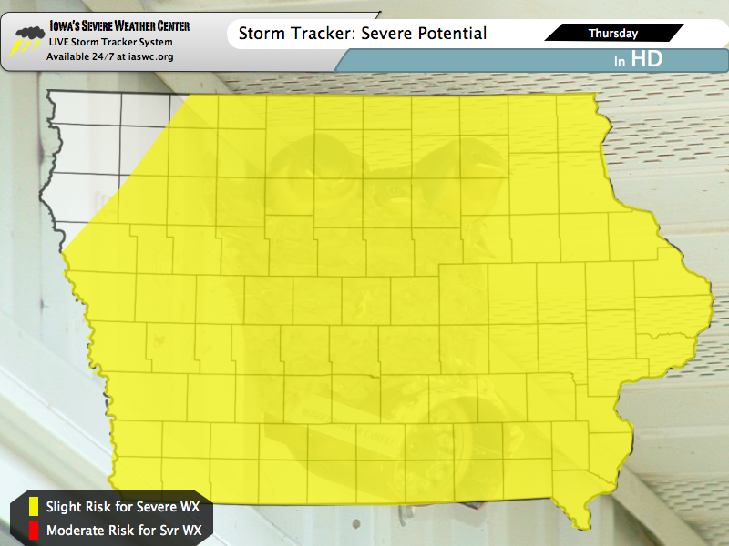 THURSDAY WXUPDATE: Another Day of Severe Weather