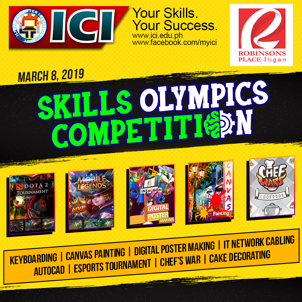 ICI Skills Olympics Invitational Competition 2019