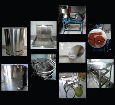 peralatan produksi tahu - tofu peoduction equipment