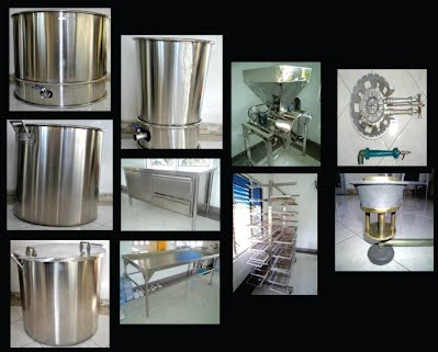 peralatan produksi tempe - tempe production equipment