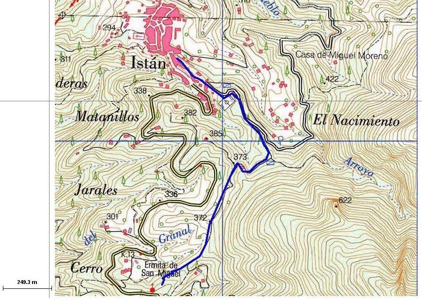 mapa topografico 6.  Mapas topográficos   B·I·O  G·E·O 1º B·A·C mapa topografico