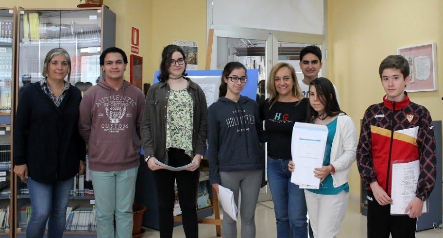 Ganadores del I Concurso Literario del IES Ítaca