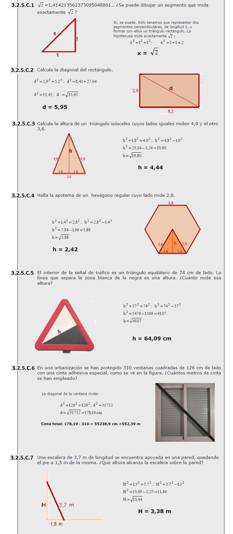 Tarea 3-2 Semejanza:Teorema de tales y de pitagoras. - porfolio de ...