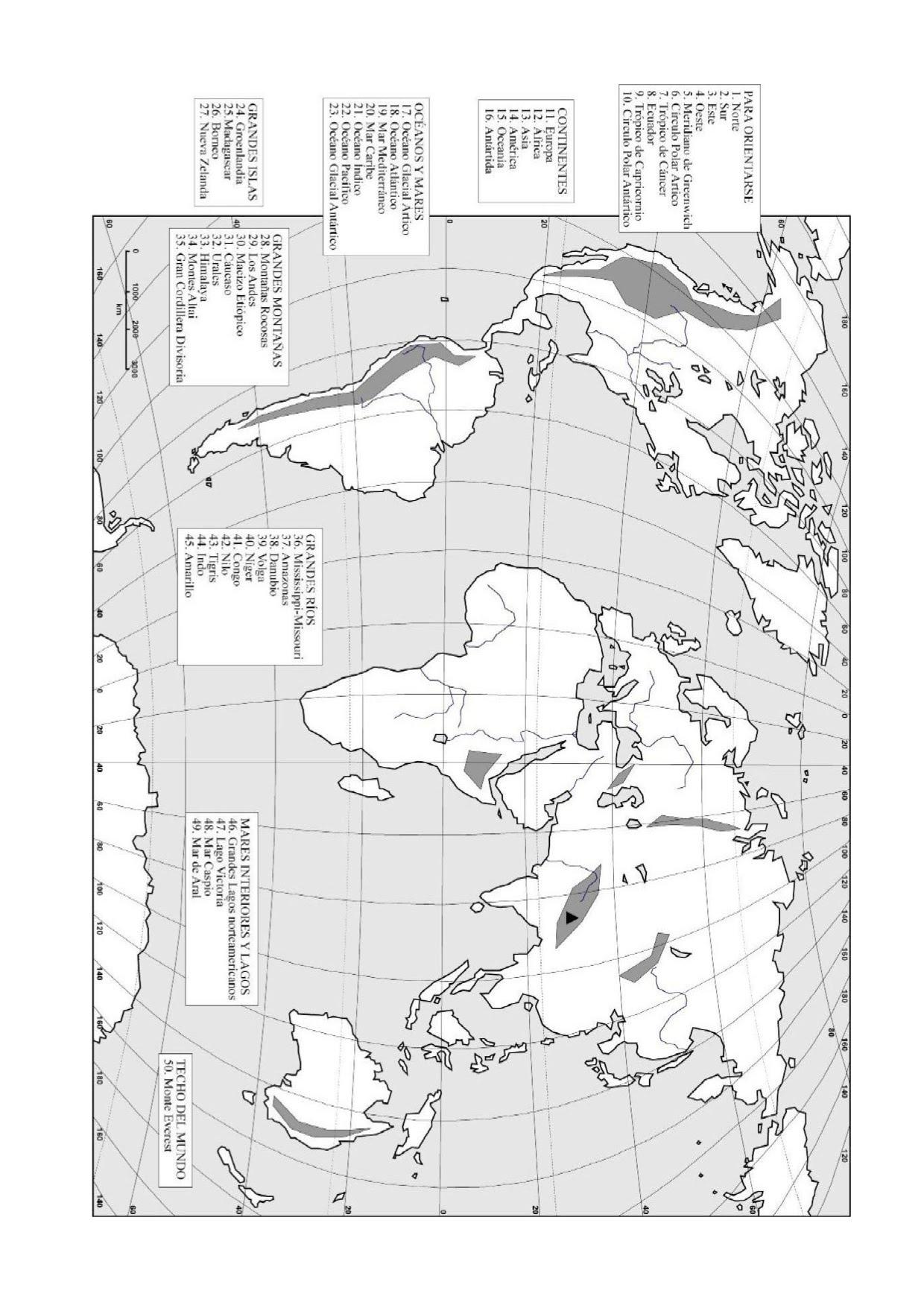 13 Escala mapas fsicos y pases del mundo  Hola Mundo