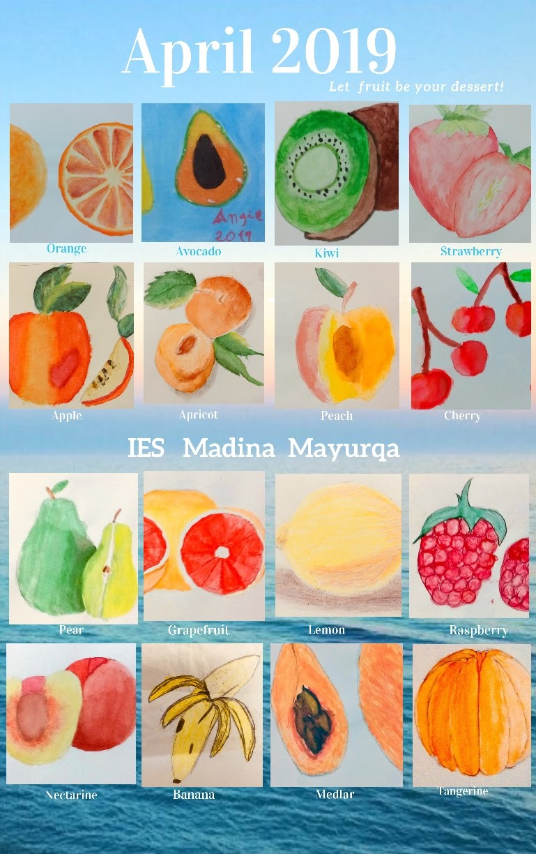 Seasonal Fruit Vegetable Posters Madina Chefs